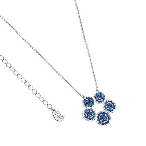Tipperary Crystal Chandeliers Blue Moon 5 Circles Pendant 111325 Tipperary Crystal Ie