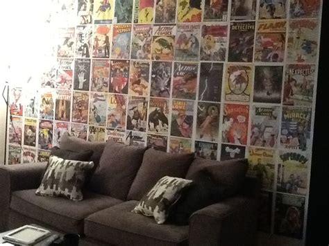 comic book room comic book wall in living room robbie s comic book room