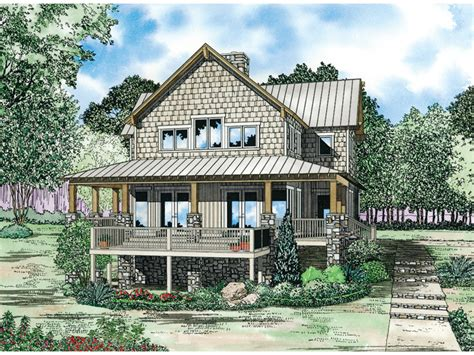gardner creek shingle style home plan 055d 0852 house