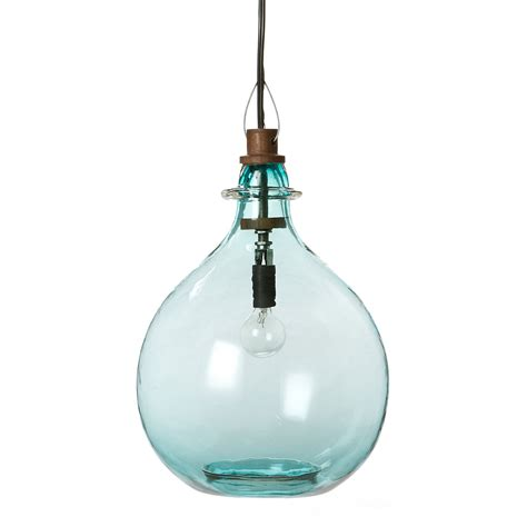 glass jug pendant light glass jug pendant terrain