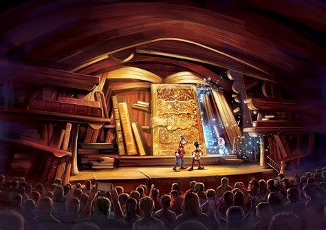 stage to stage books an all new stage show mickey and the wondrous book