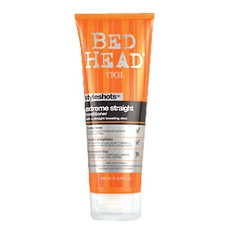 bed head reviews tigi bed head styleshots extreme straight conditioner