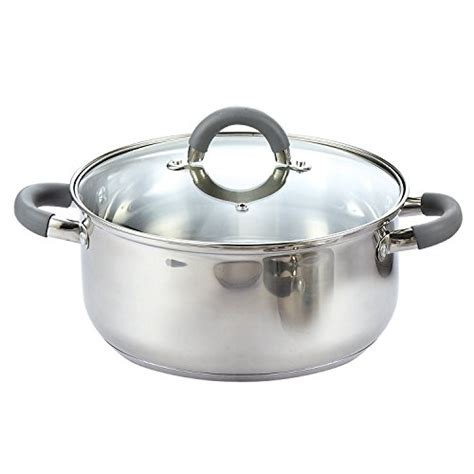 cook n home 02410 12 stainless steel cookware set