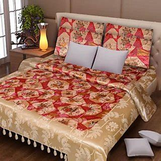 smoothest most comfortable bed sheets to buy sg smooth silk exclusive double bed sheet with 2 pillow