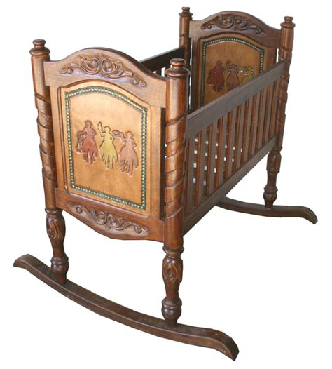 Western Furniture Multi Baby Cradle Lone Star Western Decor Western Baby Cribs
