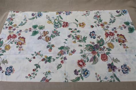 printable cotton fabric sheets vintage waverly schumacher cotton blend fabric sheets