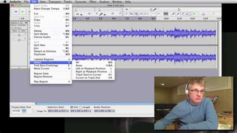tutorial youtube audacity audacity tutorial how to slow down music for practice