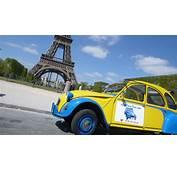 2CVParisTour  Visitez Paris En 2CV Eglantine Au Soleil