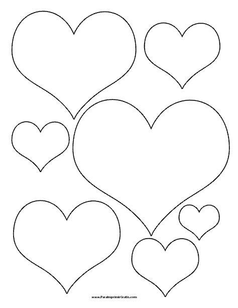 imagenes para dibujar sin color 74 corazones de amor para pintar imprimir descargar y