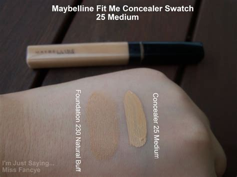 Maybelline Fit Me Concealerp maybelline fit me concealer 25 medium i m just saying