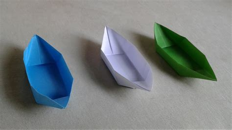 Paper Boats That Float - how to make a paper boat that floats in water for
