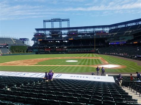 what is section 136 coors field section 136 rateyourseats com