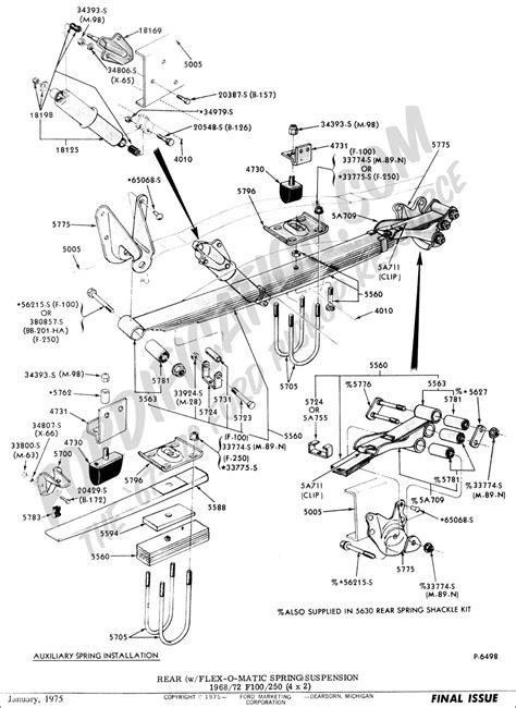 chassis parts diagram ford rear suspension parts wiring diagrams repair wiring