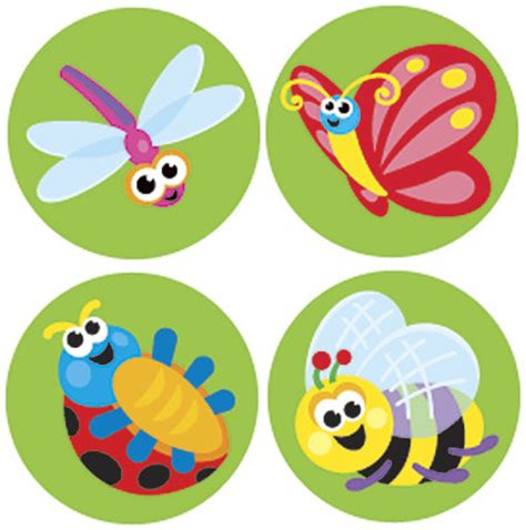 Aufkleber Kinder by Stickers Itty Bitty Bugs Stickers For School