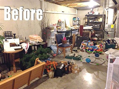 how to organize your basement a bit of basement organization living rich on lessliving