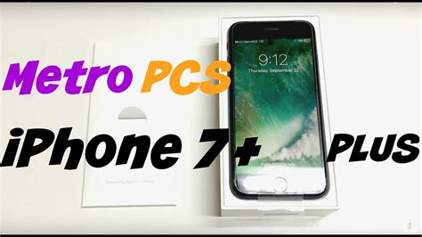 metro pcs iphone 7 plus unboxing review