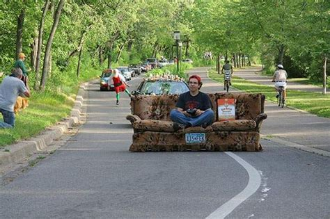 couch cing motorised sofa racing anyone thought not does it qualify