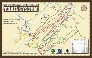 Oak Mountain State Park Map by Tannehill Historic Ironworks State Park 187 Bump