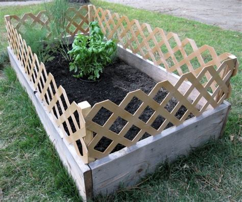 Raised Garden Fence Ideas with 15 Unique Raised Garden Bed To Increase The Value Of Your Outdoor Space Top Inspirations