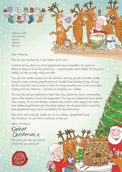 nspcc charity letter letters from santa by the nspcc julie s notebook