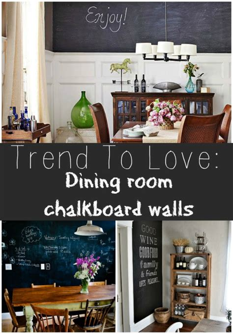 chalkboard for room trend to dining room chalkboard walls