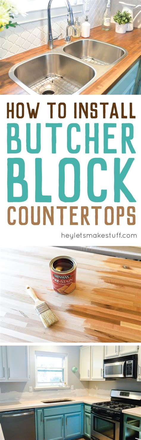 best 25 diy butcher block countertops ideas on