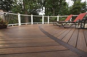 trek patio trex curved deck traditional deck other metro by