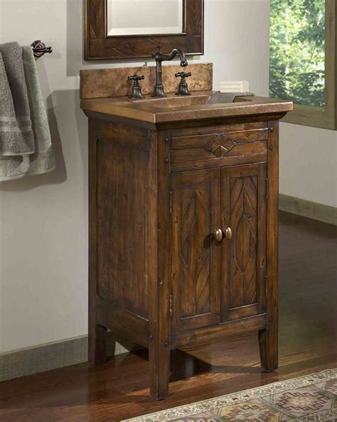 rustic bathroom sink cabinets best 25 country bathroom vanities ideas on pinterest