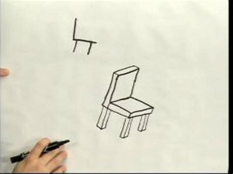 how to draw a recliner chair step by step easy cartoon drawing how to draw a cartoon chair in 3d