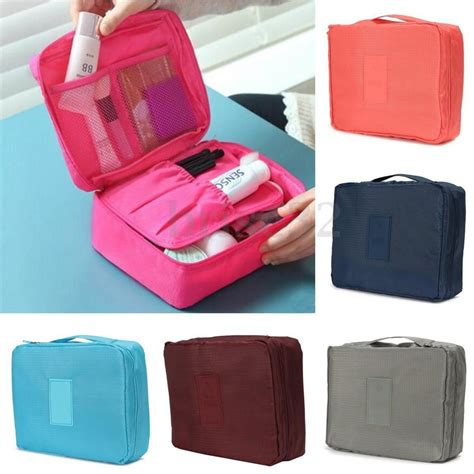 Pouch Organizer travel cosmetic makeup bag toiletry wash organizer storage hanging pouch ebay