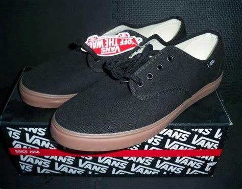 Jual Vans Zapato Black Gum jual beli vans madero black gum size us 9 42 baru