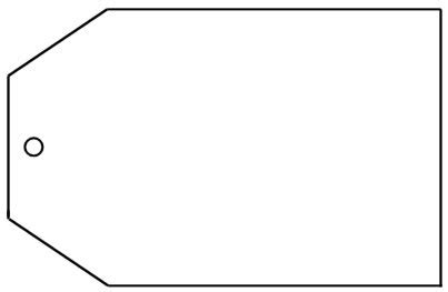 luggage tag escort card template advice cards for guest