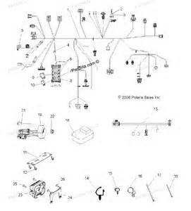 polaris atv parts 2009 r09vh76fx ranger rzr quot s quot 800 efi intl electrical wire harness diagram
