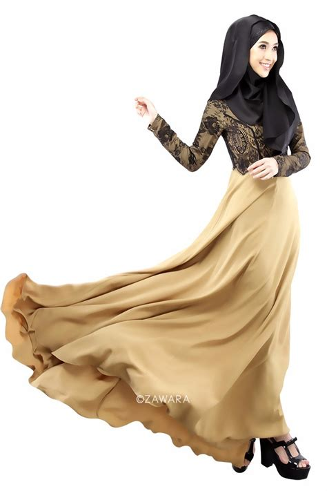 Baju Helena Midi Dress Es 2 new arrival fashion womens muslim abaya dress o neck sleeve floor length empire