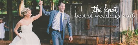 The Knot Best of Weddings 2016   April Lynn Designs