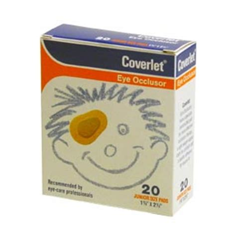 coverlet eye occlusor cfa medical coverlet eye occlusor bandages junior