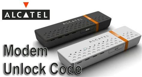 Modem Alcatel X080s unlock alcatel mobile broadband modem dongle by code x020 x030x x060s x070s x080s x100x