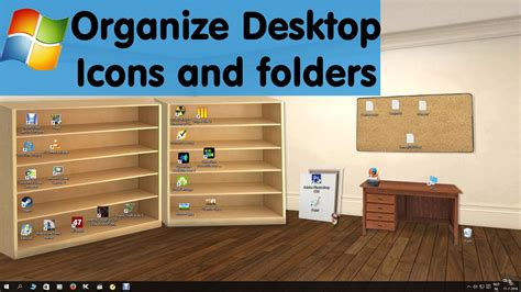 desk organized best windows 10 desktop organizer wallpaper