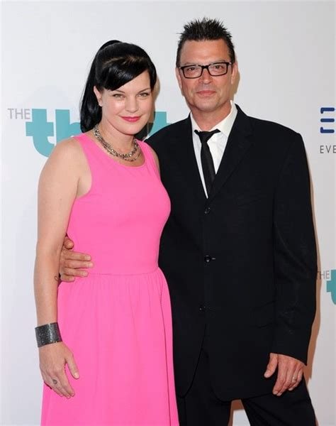 the gallery for gt pauley perrette husband michael bosman