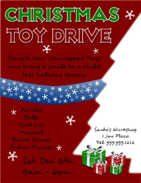 Lovely Christmas Tree Shop Donation Request #1: Inkscape-christmas-toy-drive-flyer-250.png