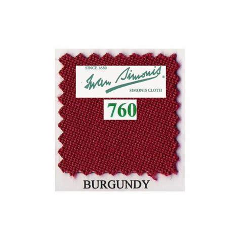 Tapis Billard Simonis by Kit Tapis Simonis 760 7ft Us Burgundy Billard Bmv