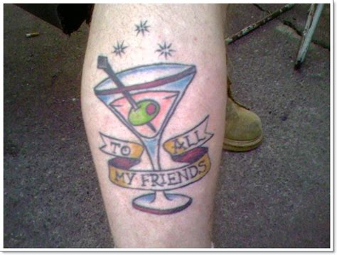 cocktail tattoo designs 40 food tattoos that look enough to eat
