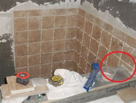 Waterproofing For Tile Shower Walls by What Not To Do Remodeling A Bathroom Shower Diytileguy