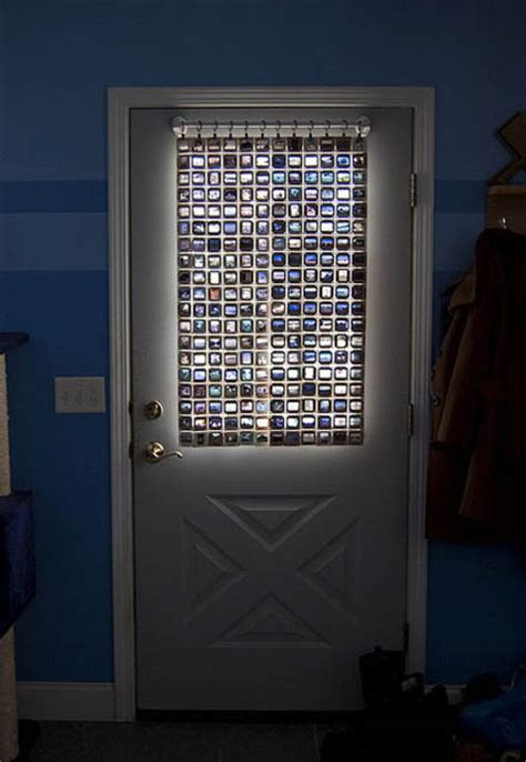 How To Cover A Glass Front Door 50 Creative Ways To Repurpose Reuse And Upcycle Things Excess Logic Surplus Equipment