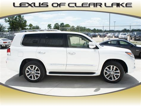 suv lexus white lexus lx 570 2013 white suv gasoline 8 cylinders 4 wheel