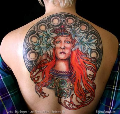 little vinnie s tattoo 10 best images about alphonse mucha on ernst