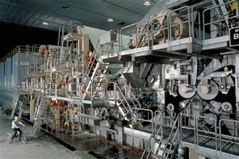Paper Machines - a brief overview of the fourdrinier paper process