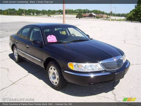1999 Lincoln Continental in Black Photo No. 9528280