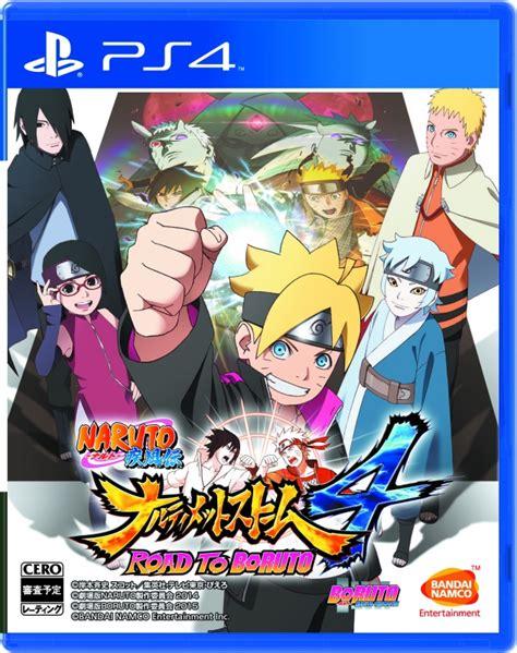 boruto game ultimate ninja storm 4 road to boruto box art