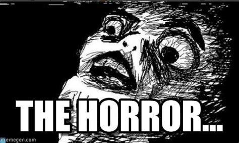 horror gasp rage face meme  memegen zombies